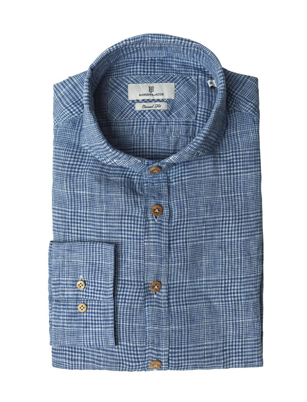 Shirt Blucheck, Light Blue