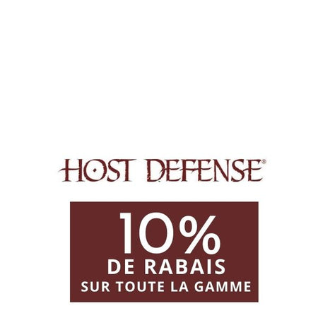 10% on Host defense