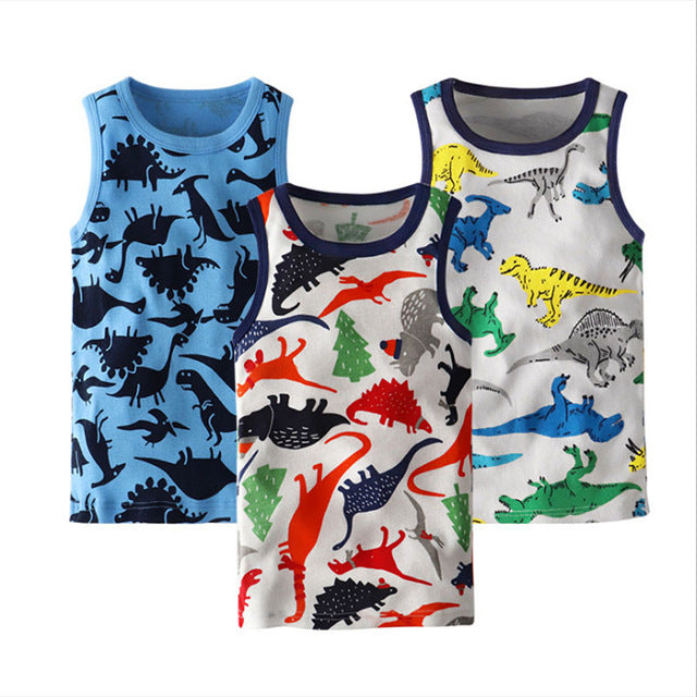 3pcs/set Summer Kids Boys T Shirt Crown Print Short Sleeve Baby boys T-shirts Cotton Children T-shirt O-neck Tee Tops Boy Cloth