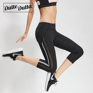 Leggins Sport Women Fitness Leggings Sportswear Woman Gym Tights Sports For Sportlegging Breeches Capri Pants Legging Female