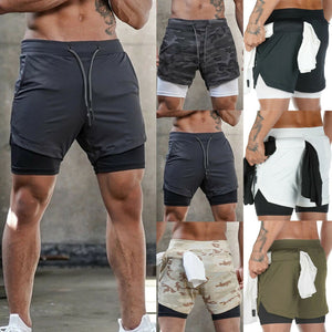Mens Summer Swimming Shorts Outfit Jogging Running Gym Sports Breathable Fitness Exercise Shorts