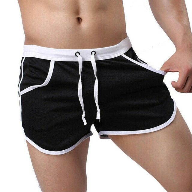 Men Gym Sports Shorts Training Running Sport Workout Casual Jogging Fitness Shorts Quick Dry Men's Short Bottoms Trousers
