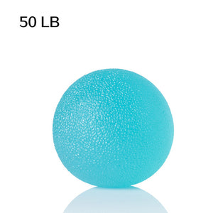 WorthWhile Silica Gel Hand Grip Ball Egg Men Women Gym Fitness Finger Heavy Exerciser Strength Muscle Recovery Gripper Trainer