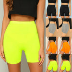 Load image into Gallery viewer, Women High Waist Leggings Stretch Biker Shorts Workout Yoga Fitness Sports Shorts 5 Colors
