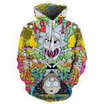 Load image into Gallery viewer, Rick and Morty Hoodies By jml2 Art 3D Unisex Sweatshirt Men Brand Hoodie Comic Casual Tracksuit Pullover DropShip Streetwear