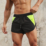 Загрузить изображение в средство просмотра галереи, Qucik Dry Running Shorts Men Athletic Marathon Training Short Pants Breathable Leggings Joggers Gym Sport Shorts Men Beachwear