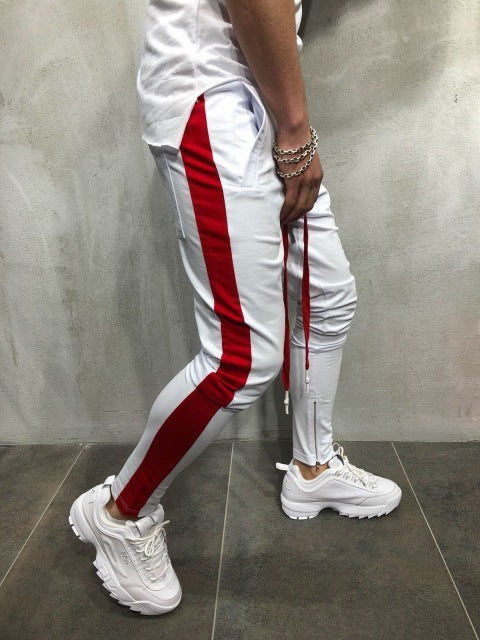 Gym training Pants Men Sport Pencil Pants Joggers Fitness Sweatpants Mens Running Pants Football Trackpants Wotkout Trousers