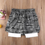Load image into Gallery viewer, Mens Summer Swimming Shorts Outfit Jogging Running Gym Sports Breathable Fitness Exercise Shorts