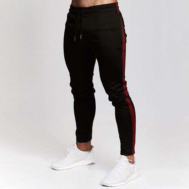 New Sport Pants Men Autumn Running Pants Jogging Leggings Quick Dry Mens Workout Gym Pants Slim Fit Fitness Trousers Tights