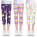 Load image into Gallery viewer, Kids Children Pencil Pants Leggings for 4-10Y Girl Clothes Summer Girls Leggings Skinny Calf-length Cropped Trousers