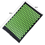 Load image into Gallery viewer, Acupressure Mat Massager Cushion Massage Yoga Mat Relieve Stress Back Body Pain Spike Acupuncture Mat with Pillow