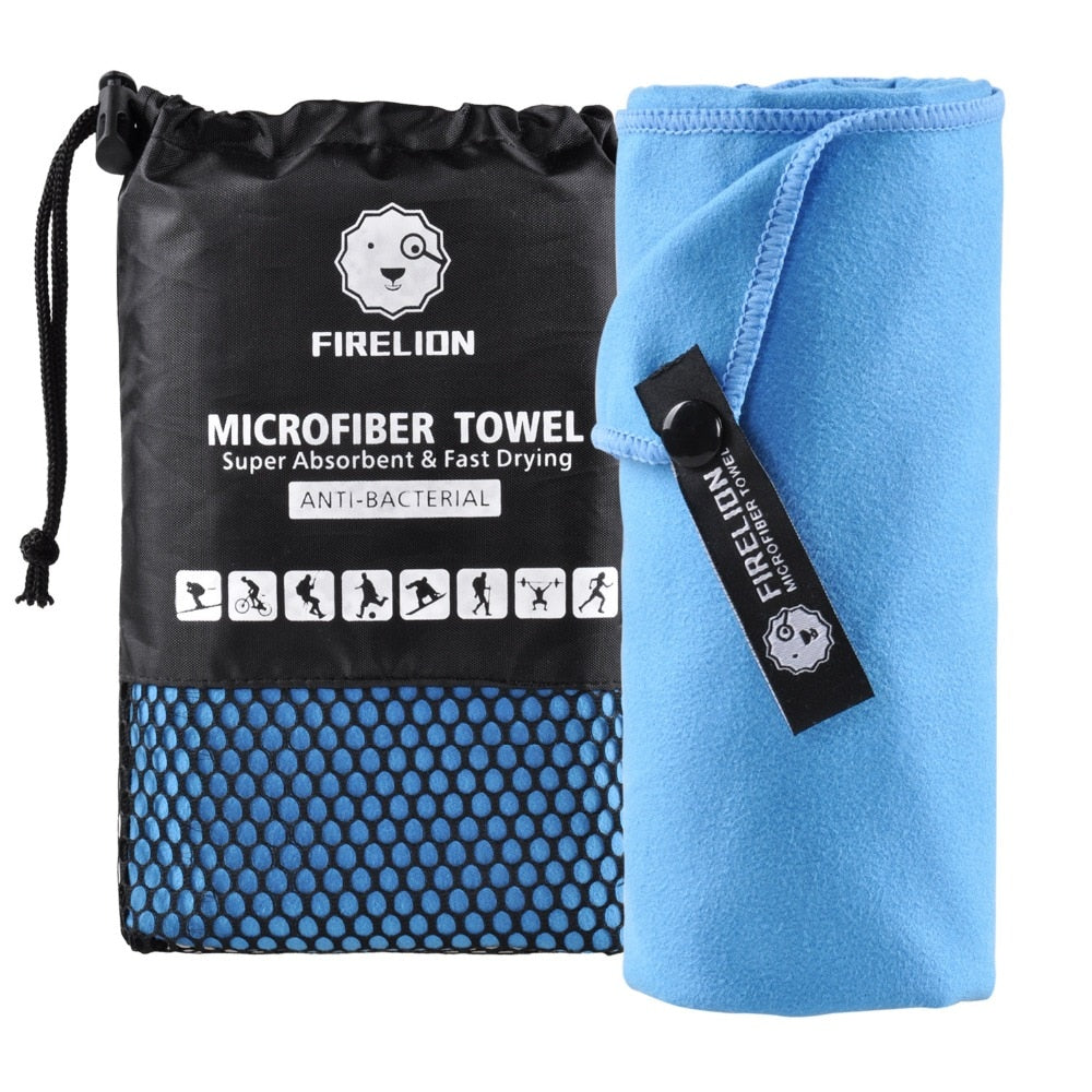 Microfiber Towels for Travel Sports Fast Drying Super Absorbent Ultra Soft Lightweight Camping Gym Beach Swimming Hiking Yoga