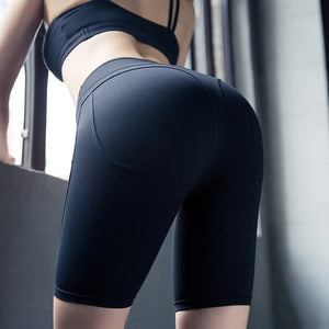Sports Shorts Women High Waist Seamless Yoga Shorts Fitness Running Active Shorts Workout Clothes for Women Hip Push Up Leggings