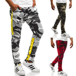 Load image into Gallery viewer, SWAGWHAT Men Camouflage Casual Pants Patchwork Sweatpants Male Cargo Pants Multi-pocket Sport wear Mens Joggers