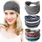 Load image into Gallery viewer, 1PC Headwear Yoga Run Bandage Hair Bands Headbands Wide HeadwrapCotton Women Headpiece Stretch Hot Sale Turban Hair Accessories