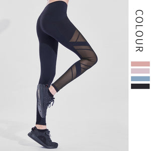 Autumn and Winter Running Gym Fitness Leggings  Women's Tights High Elasticity High Waist Sexy Hip Lifting Women's Yoga Pants