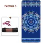 Load image into Gallery viewer, 6mm Thickened  TPE Esterilla Yoga Colchoneta Ejercicio Floor Mat For pilates  Tapis Sport Fitness Epais Absorb Sweat Breathable