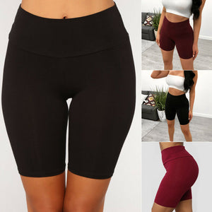 Women Sport YOGA Shorts Workout Gym Fitness Leggings Stretchy Shorts Sportswear