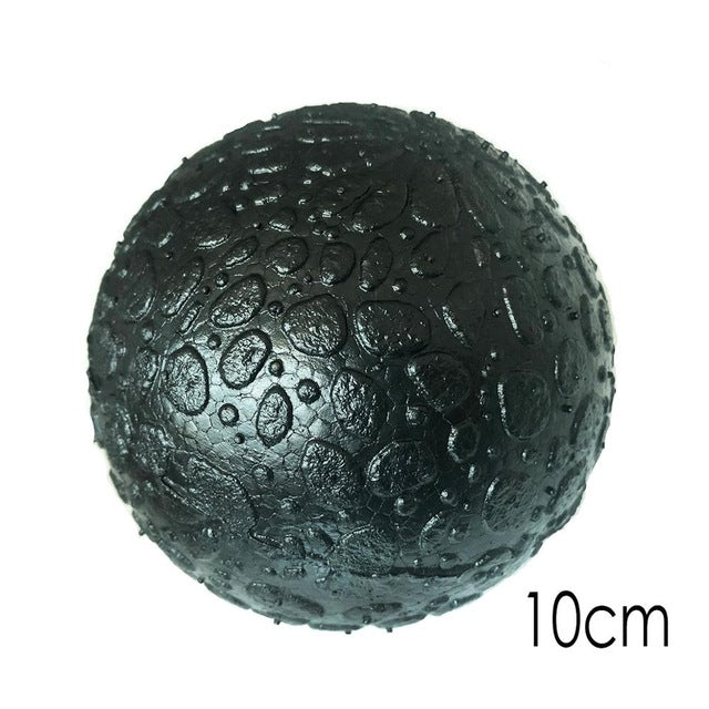 (Ship Now) 16*8CM EPP Fitness Ball Double Lacrosse Massage Ball Mobility Peanut Ball for Self-Myofascial Release Deep Tissue