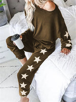 Load image into Gallery viewer, New Print Loose Tracksuits Lounge Wear Women Casual Two Piece Set Spring Street t-shirt Tops and Jogger Set Suits 2pcs Outfits