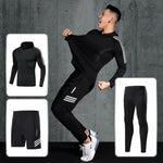 Load image into Gallery viewer, Compression sport suits men sport sport sports quick drying running clothing sets joggers training gym fitness workout set
