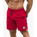 Загрузить изображение в средство просмотра галереи, Fitness Shark Summer Jogger Shorts Men Patchwork Running Sports Workout Shorts Quick Dry Training Gym Athletic Shorts