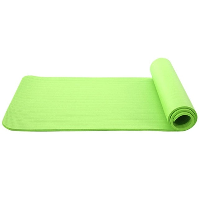 1830*610*6mm TPE Yoga Mat with Position Line Anti-slip Carpet Mat For Beginner Environmental Fitness Gymnastics Mats Sports Pads