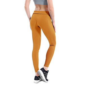 Women High Elastic Fitness Sport Gym Leggings Yoga Pants Slim Running Tights Sportswear Sports Pants Trousers Clothing Seamless