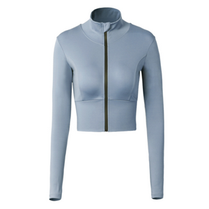 Heal Orange Running Jacket Women Dry Fit Womens Gyn Long Shirt Winter Sport Jackets Sports Wear For Women Gym Fitness Jacket