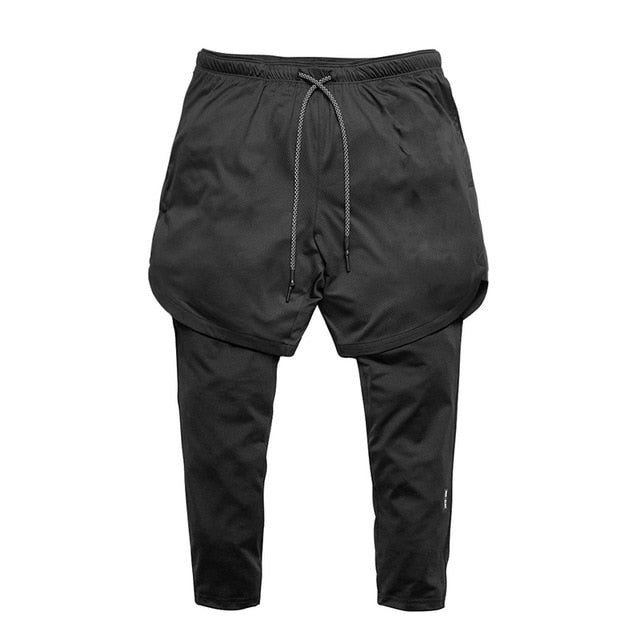 High Quality Mens Running Shorts 2 In 1 Sports Shorts Men Soccer Workout Jogging Short Pants Quick Dry Gym Sport Fitness Shorts