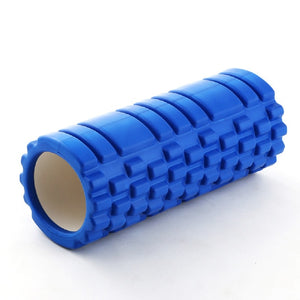 Hollow Yoga Block Fitness Equipment Pilates Foam Roller Fitness Gym Exercises EVA Muscle Massage Relax Roller Yoga Brick 33*14cm