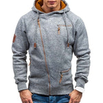 Load image into Gallery viewer, New Hoodie Men Spring Casual with Slim Zipper
