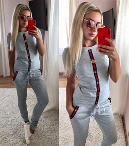 2019 women clothes hot  Spring Street t-shirt Tops and Pants