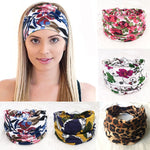 Load image into Gallery viewer, Cotton Women Headpiece Stretch Hot Sale Turban Hair Accessories 1PC Headwear Yoga Run Bandage Hair Bands Headbands Wide Headwrap