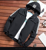 Load image into Gallery viewer, 2020 Zip Up Men Jacket Spring Autumn Fashion Brand Slim Fit Coats Male Casual Baseball Bomber Jacket Mens Overcoat Plus size 4XL