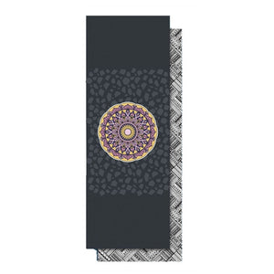 Yoga Mat Towel Microfiber Double-sided Printed 185*65cm Sweat-absorbent Non-slip Yoga Towel Pilates Mat Cover Yoga Blanket