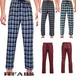 Load image into Gallery viewer, New Men's Ladies Fashion Loose Sleep Bottoms Plaid Flannel Lounge/Pajama PJ Pants Size M-2XL Bottoms Casual Pants
