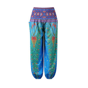 Girls Leggings Kids Pants Summer 2019 Boho Print Children Yoga Pants Loose Hippy Girls Trousers Kids Casual Beach Wear