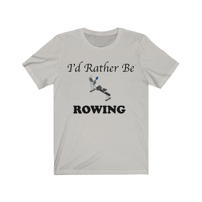 I'd Rather Be Indoor Rowing