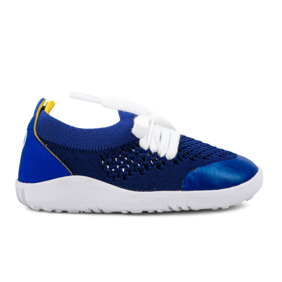 Step Up Play Knit blueberry/giallo | La sneaker ultraflessibile e traspirante