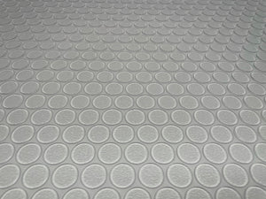75 Mil Small Coin Clear Printable Vinyl Flooring