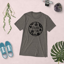 Load image into Gallery viewer, Fascinated By Fungi (@SimpleSerene Circle Logo) Unisex Triblend