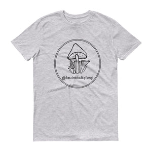 Fascinated By Fungi (@SimpleSerene Circle) - Unisex Anvil