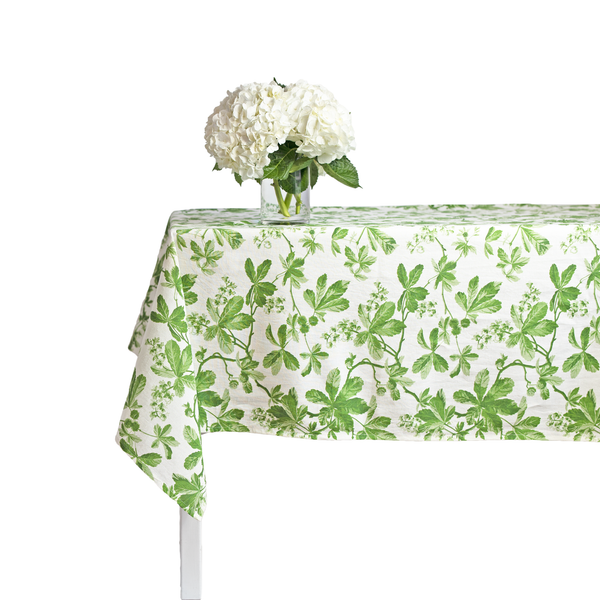 Chestnut Green Tablecloth