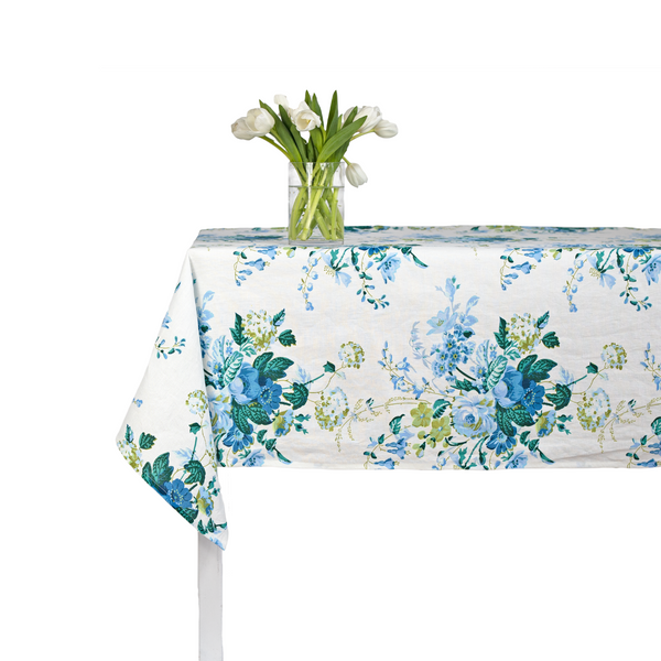 Clarita Tablecloth - Blue