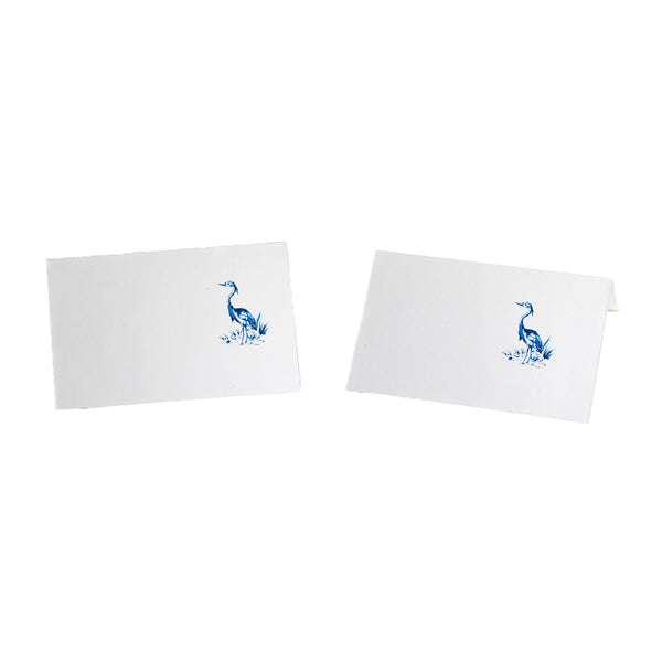 Heron Blue Place Card