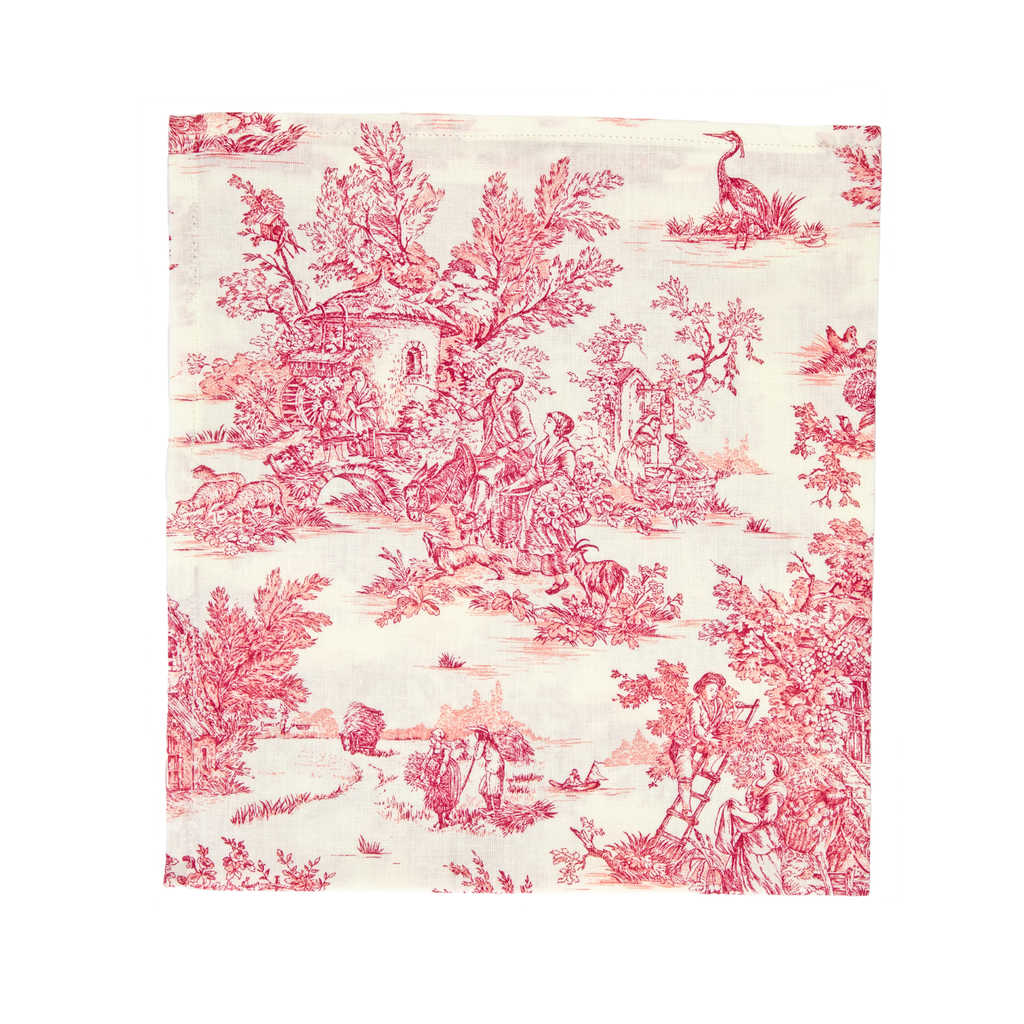 Indiennes Red Napkin