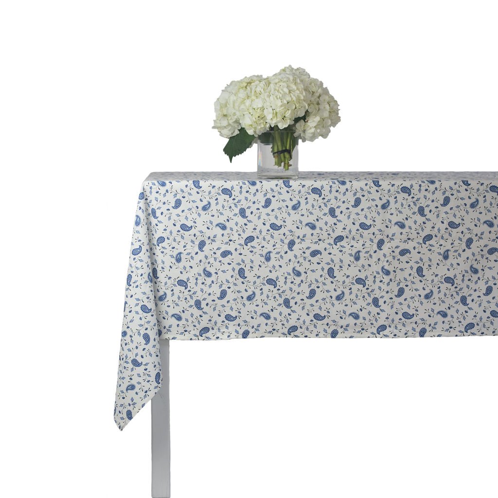 Paisley Bleu Tablecloth
