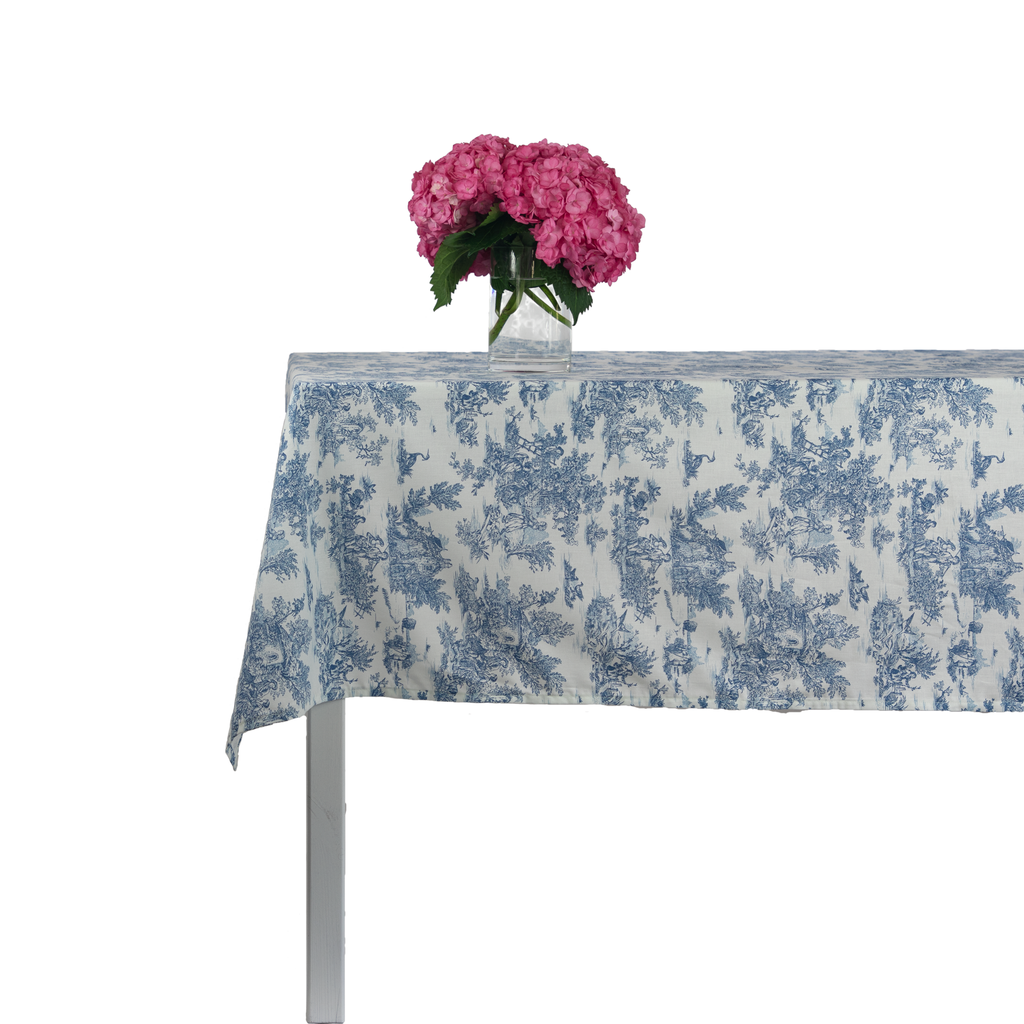 Indiennes French Blue Tablecloth