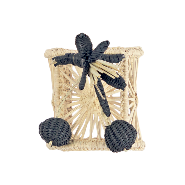 Black Berries Napkin Ring